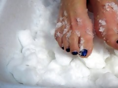 ice feet
